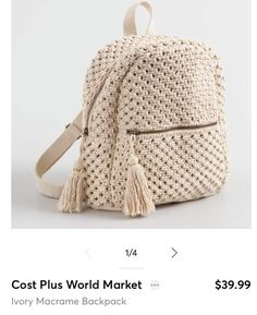 Such a cute backpack! Love it #ShopStyle #shopthelook