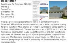 Twitter - FANTASTIC - Package portfoilio real estate deal.  http://cashcrusher.com