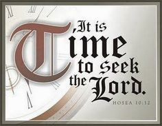 Seek the Lord while He may be Found.-