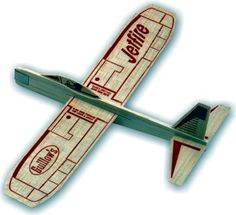 balsa wood airplanes with the weight on the end so that every time you threw it, the silly thing crashed (and usually broke!) if it wasn't breezy enough...