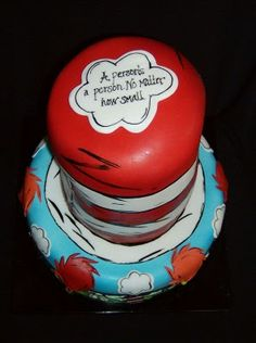 this is the top of that baby shower themed cake--my favorite Dr. Seuss quote ever! Dr Seuss Baby Shower, Baby Shower Fun, Baby Shower Cakes, Baby Cakes, Dr Seuss Cake, Dr Suess, Dr Seuss Birthday Party, Birthday Ideas, Birthday Cakes