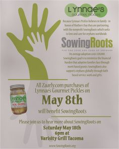 Support Adoption With Lynnae's Gourmet Pickles