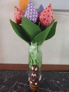 Maryline nous présente son jolie bouquet de tulipes #creativemag numéro 28