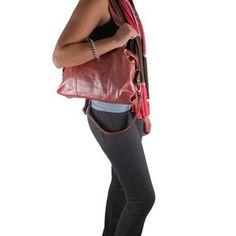 Latico Leathers Katrina Mimi Square Handbag