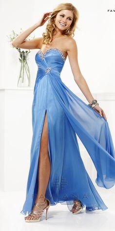Sexy evening dress by Faviana