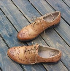 Tendance Chaussures Ladies platform shoes women Genuine leather shoes Oxford shoes for women Brogues Tendance & idée Chaussures Femme 2016/2017 Description Ladies platform shoes women Genuine leather shoes Oxford shoes for women Brogues Leisure vintage women flats brand shoes US $54.99