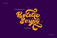Boldie Script Typeface by thirtypath on @creativemarket