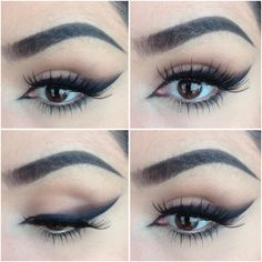 HOW TO: SMOKEY WINGED LINER — BATALASHBEAUTY