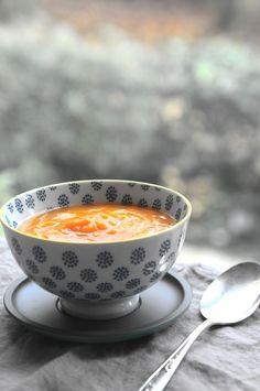 Soupe de courge et patates douces - Sweet Potato and pumpkin soup The Happy Cooking Friends