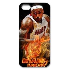 LeBron Raymone James iPhone 5 case MVP 2013 NBA champion MIAMI HEAT team,