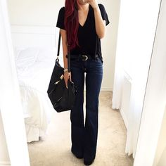 Kkarmalove is wearing the Ali jean from #FevrieFashion! Check out her flared look now!