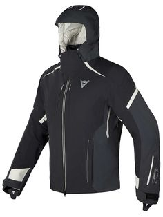 Dainese Black Grual D-Dry JackeT