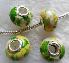 10 Beads Large Hole  to fit European Jewelry B040 by adawnstyle, $2.00