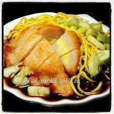 #indonesian #food #pempek #eggs #vinegarsauce #noodles