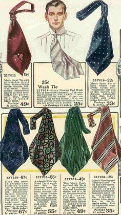 1917 men's scarf ties
