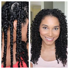 3 Strand Twist Out Demo + Results (+playlist)