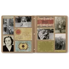 With the Reminisce Charm Photo Album Accents and a PicFolio Album it is fast and easy to create a family heritage album.  Add color and design quickly and easily. Precut photo mats add a thin frame around your 4x6 photos, and ruled journaling cards help you share your story. The pieces are all precut and ready to slide into the pockets of the PicFolio® Photo Album (sold separately).