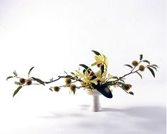 Styles of Ohara School of Ikebana English Ikebana Flower Arrangement, Ikebana Arrangements, Flower Arrangements, Flower Games, Hotel Flowers, Table Set Up, Green Flowers, Wabi Sabi, Flower Art