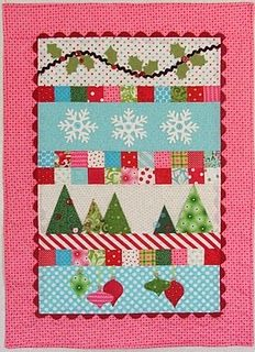 fun colors for a Christmas quilt