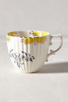 Nature Table Teacup - anthropologie.com #anthroregistry