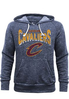 Cleveland Cavaliers Mens Navy Blue Layup Fashion Hood