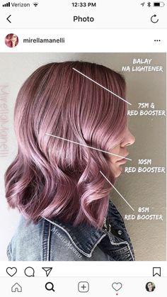 Mauve hair!!