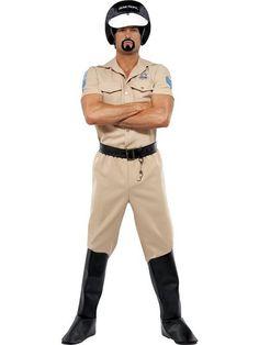 "Village People Motorcycle Cop Costume - Chest 38""-40"", Leg Inseam 32.75"""