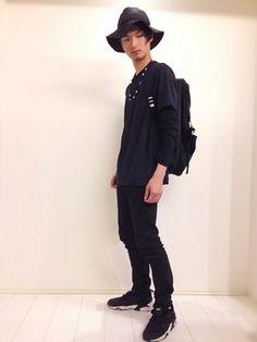 KURE│JUNRedのTシャツ/カットソーコーディネート