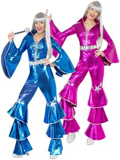 Ladies 1970s Abba Costume | All Ladies | Fancy Dress Hub More