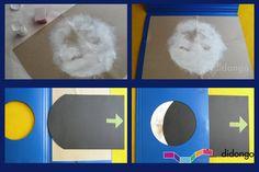fases lunares para niños