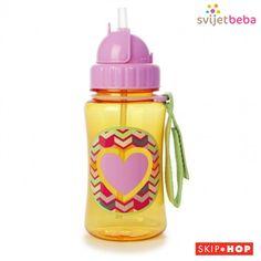 Pribor za jelo Skip Hop Bočica sa slamkom | Svijet Beba