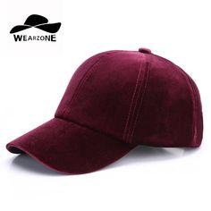 Online Shop 2017 Velvet Baseball Cap Casual Sports Men Women Hat Velvet  Snapback Hat Gorra Hombre Solid Cappello Hip Hop Baseball Cap 3b7915ce80c