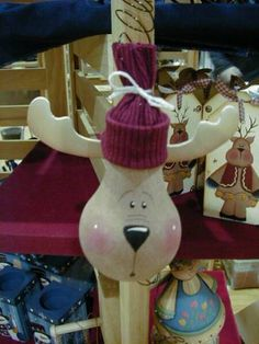 lots of cute Christmas and Halloween light bulb characters