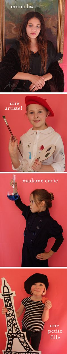 French inspired #Halloween #costumes... too cute! #diy