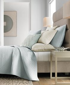 Hotel Collection Ogee Quilted King Coverlet, Only at Macy's - Bedding Collections - Bed & Bath - Macy's