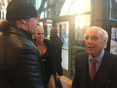 Ric Flair Jokes About The Undertaker Contributing to His Drinking Problems: While speaking to The Associated Press while promoting his new… Kane Wwe, Undertaker Wwe, Vince Mcmahon, Ric Flair, Wrestling Wwe, Jokes, Celebs, Drinking, Couple Photos