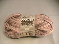 Ravelry: juliew8's Bernat Felting Natural Wool  English rose