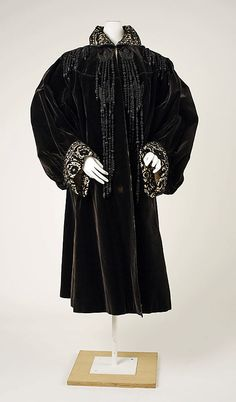Coat, House of Worth 1905, French, Made of silk