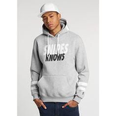 Cayler & Sons Hooded-Sweatshirt Snipes Knows grey heather/white/black  #hoodie