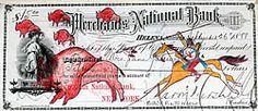 Montana Traveler's Check Ledger Art