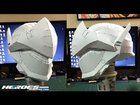 [Self] Genji - Overwatch Cosplay Project - Pepakura Helmet Timelapse Genji Overwatch, Pepakura Helmet, Genji Cosplay, Cosplay Helmet, Paper Art, Sculptures, Fans, Projects, Future