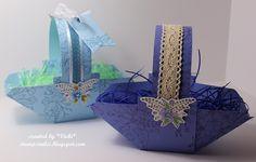 Envelope Punch Board Baskets by basement stamper - Cards and Paper Crafts at Splitcoaststampers