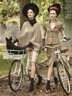 """Editorial """"In the Mood"""" by Steven Miesel for Vogue USA, September 2009"""