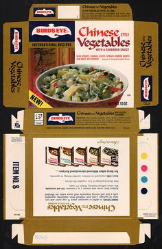 General Foods Bird's Eye International Recipes Chinese Style Vegetables - January 14 1972   Flickr - Photo Sharing!