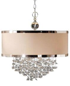 Uttermost Fascination 3-Light Hanging Shade Pendant #brenda #munger #BrendaMunger Brenda Munger  @brenda_munger