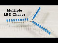 Multiple LED Chaser light Circuit - YouTube Led, Montage, Circuit, It Works, Youtube, Nailed It, Youtubers, Youtube Movies