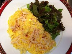 Ovos mexidos com arroz http://grafe-e-faca.com/pt/receitas/ovos/ovos-mexidos-com-arroz/