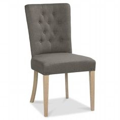 Charente Upholstered Dining Chair, Chalk Oak available online at Barker & Stonehouse. Browse our fabulous range today! Oak Dining Chairs, Upholstered Dining Chairs, Barker And Stonehouse, Living Spaces, Accent Chairs, Range, Luxury, Furniture, Home Decor