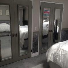 Custom Closet Doors With Mirrors