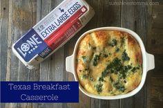 Texas Breakfast Casserole #LonestarEggs